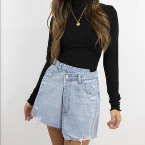 Dresses & Skirts - NWT Grey Bandit Maddox Denim Skirt
